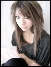 long layered emo haircuts