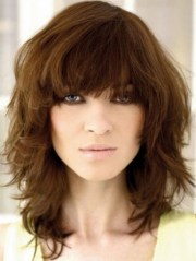 30 Choppy Layered Hairstyles With Bangs Fringe Hairstyles Ideas