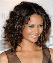medium curly hairstyles 2014