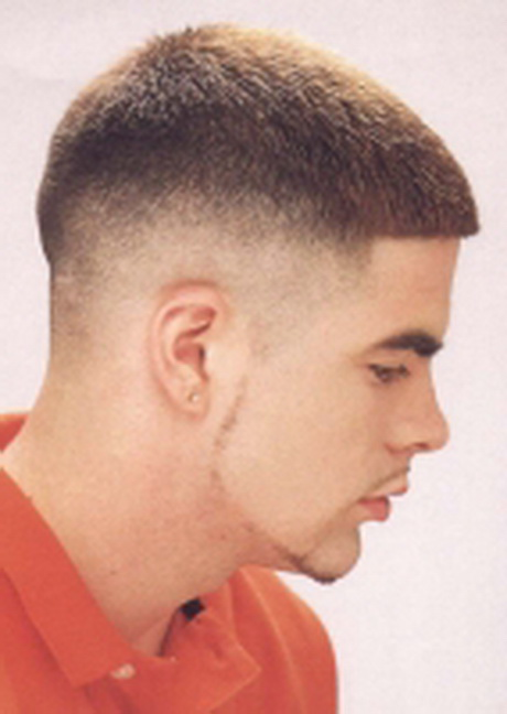 Medium fade haircut