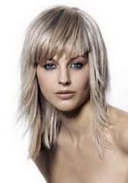 medium layered hairstyles fine