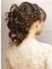 medium length hairstyles prom