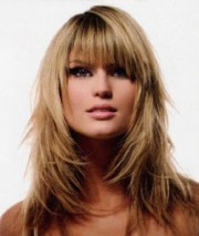 medium length layered hairstyles