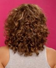 medium permed hairstyles