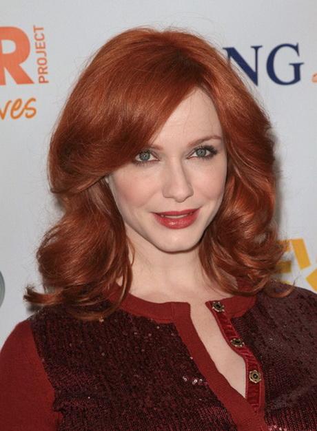 30 Red Hair With Bangs Medium Hairstyles Hairstyles Ideas Walk