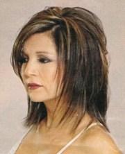 medium shaggy layered hairstyles