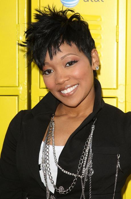 Monica short hair styles