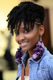 natural twist hairstyles black