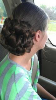 pentecostal hairstyles long