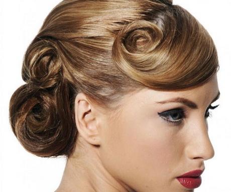 pin up wedding hair
