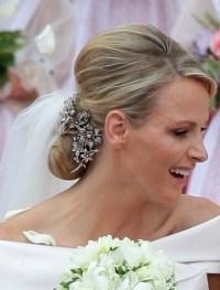 Princess wedding hair