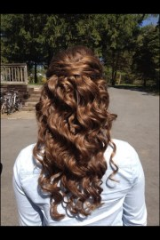 prom hairstyles and curly