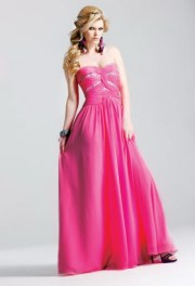 prom hairstyles strapless dresses
