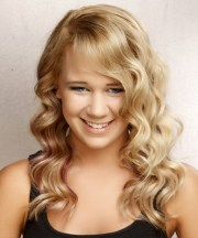 prom hairstyles thick curly
