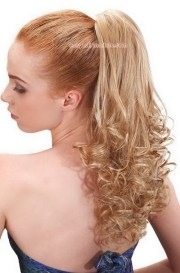 prom hairstyles ponytail