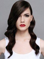 retro hairstyles long hair