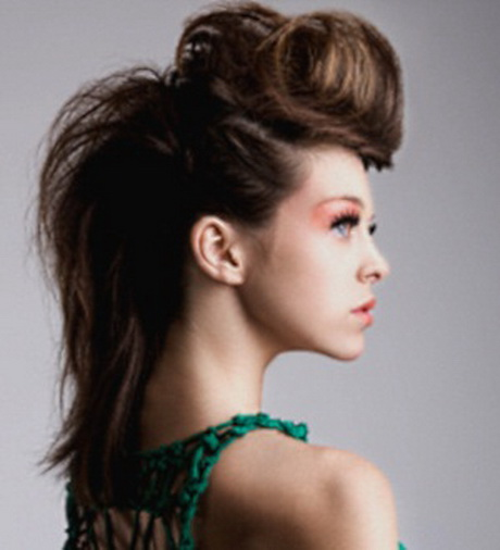 Rock hairstyles for women