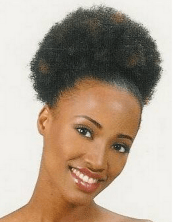short afro hairstyles