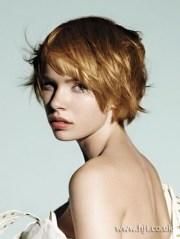 short choppy haircuts women