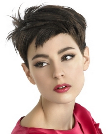 Short Choppy Pixie Cuts