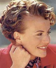 short curly hairstyles older
