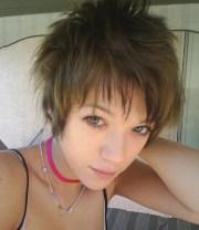 short emo hairstyles girls