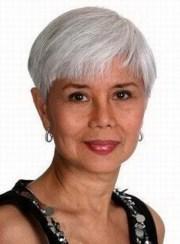 short grey hairstyles women