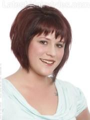 short hair styles fat women