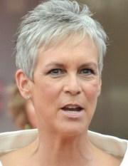 short hair styles grey
