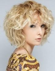 short haircuts curly hair 2015