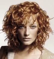 short layered haircuts curly