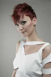 short mohawk hairstyles women