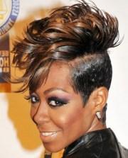 short mohawk hairstyles women