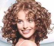 short permed hair styles