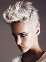 short punk hairstyles women