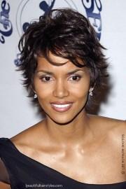 black women short hair cuts flipped