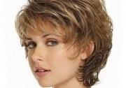 short wavy hairstyles women over