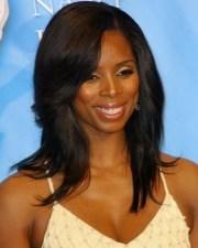 shoulder length black hairstyles