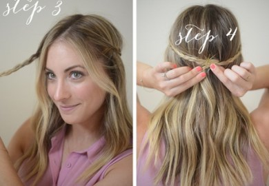Easy Step By Step Hairstyles For Short Hair