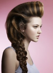 simple prom hairstyles long