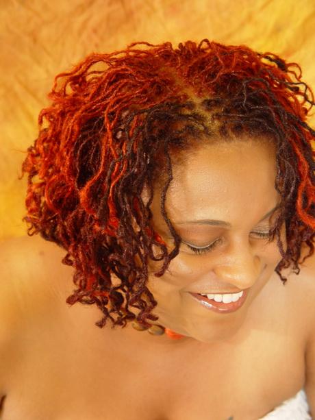 Sister locks hairstyle