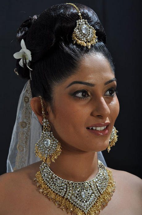 Sri lankan bridal hairstyles