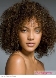 super curly hairstyles