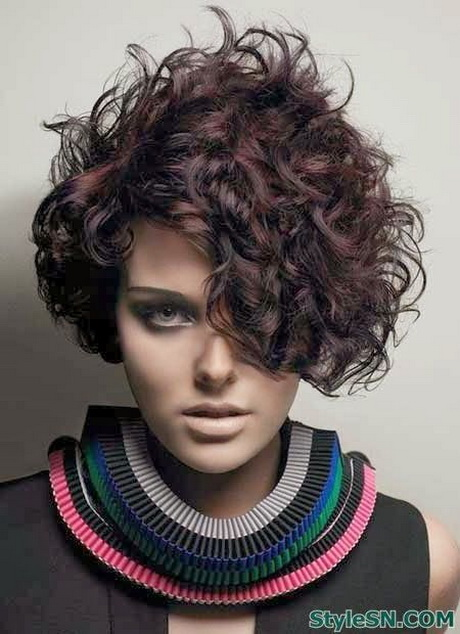 Super short curly haircuts