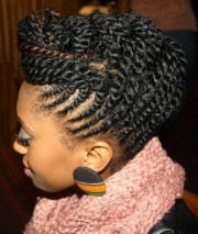 twist hairstyles black girls