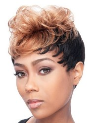 unique short hairstyles women