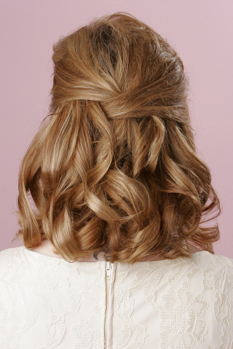 Up styles for shoulder length hair