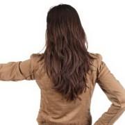 shaped layered haircut