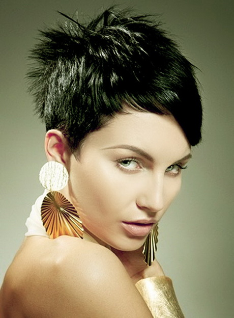 Very Short Hairstyles For Thick Hair