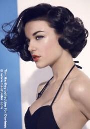 vintage hairstyles short hair